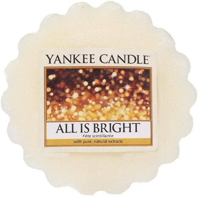 Ceară aromată - Yankee Candle All is Bright Wax Melts  — Imagine N1