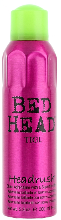 Spray pentru strălucire - Tigi Bed Head Biggie Headrush Hair Spray