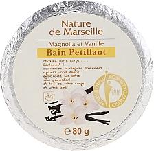 Parfumuri și produse cosmetice Bombă de baie cu aromă de magnolie și vanilie - Nature de Marseille Magnolias&Vanilla