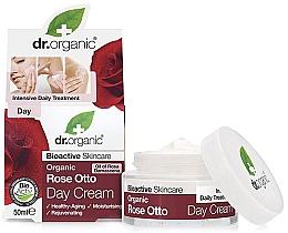 """Parfumuri și produse cosmetice Cremă anti-îmbătrânire de zi """"Rose Otto"""" - Dr. Organic Bioactive Skincare Rose Otto Day Cream"""