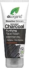 Parfumuri și produse cosmetice Gel de curățare pentru față - Dr. Organic Activated Charcoal Face Wash
