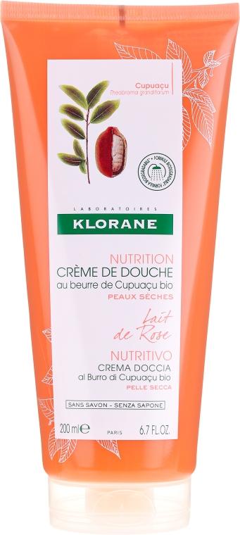 Cremă de duș - Klorane Cupuacu Rose Milk Nourishing Shower Cream — Imagine N1
