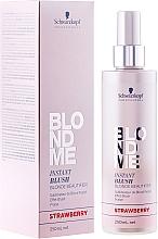 Parfumuri și produse cosmetice Spray nuanțator - Schwarzkopf Professional BlondMe Instant Blush Spray