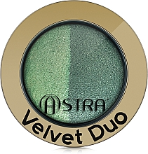 Parfumuri și produse cosmetice Fard de ochi - Astra Make-up Velvet Duo Eyeshadow