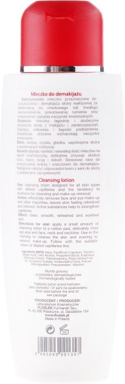 Lapte demachiant - Floslek Dilated Capillaries Line Cleansing Lotion — Imagine N2
