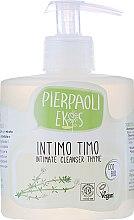 Parfumuri și produse cosmetice Săpun antibacterian cu extract de cimbru organic pentru igiena intimă - Ekos Personal Care Thyme Intimate Cleanser (cu dozator)