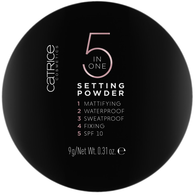 Pudră de față - Catrice 5 in 1 Setting Powder