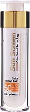 Parfumuri și produse cosmetice Cremă de protecție solară pentru față - Frezyderm Sun Screen Color Velvet Face Cream SPF 50+