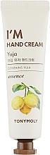 """Parfumuri și produse cosmetice Cremă de mâini """"Yuzu"""" - Tony Moly I'm Hand Cream Yuja"""