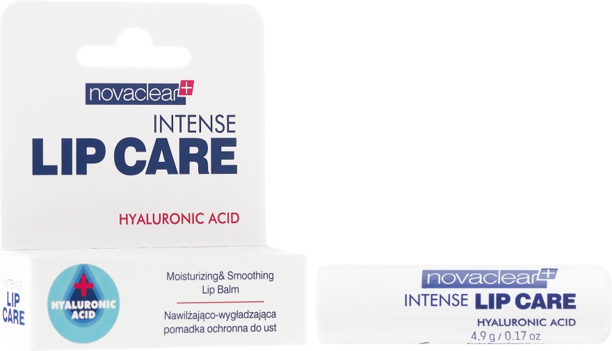 Balsam de buze cu acid hialuronic - Novaclear Intense Lip Care