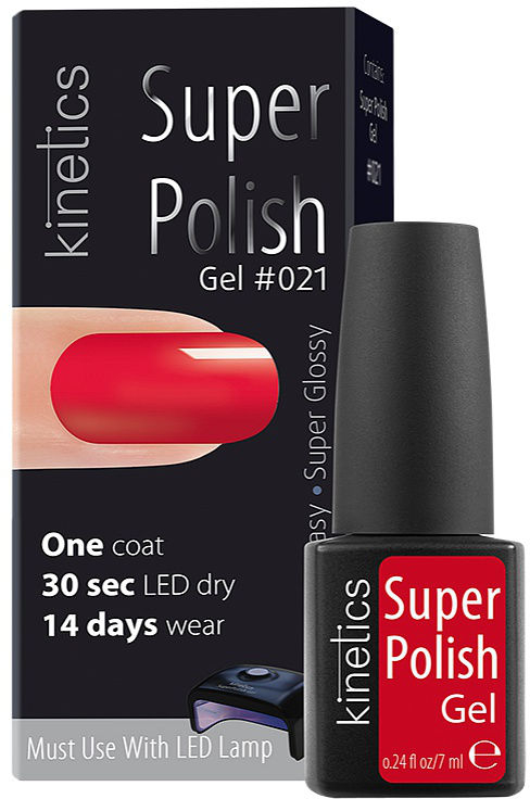 Gel-lac de unghii - Kinetics Super Polish