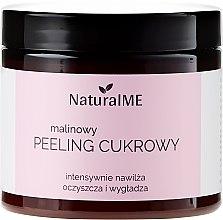 """Parfumuri și produse cosmetice Scrub cu zahăr """"Zmeură"""" pentru corp - NaturalME"""