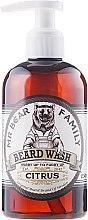 Parfumuri și produse cosmetice Șampon pentru barbă - Mr. Bear Family Beard Wash Citrus