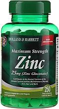 Parfumuri și produse cosmetice Supliment alimentar Zinc 25 mg - Holland & Barrett Maximum Strength Zinc