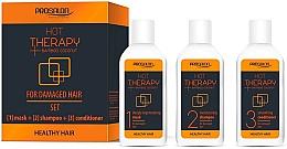 Parfumuri și produse cosmetice Set - Prosalon Hot Therapy (mask/50ml + shm/50ml + cond/50ml)