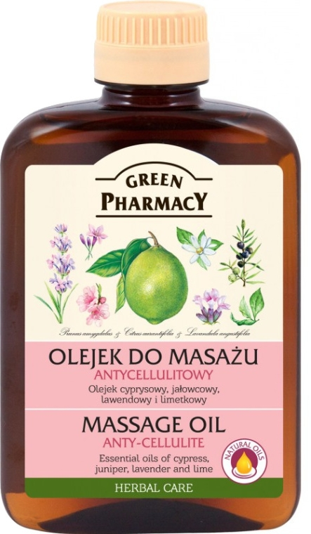 Ulei de masaj anticelulitic - Green Pharmacy Massage Oil Anti-Cellulite