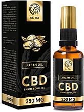 Parfumuri și produse cosmetice Ulei natural de argan CBD 250mg - Dr. T&J Bio Oil