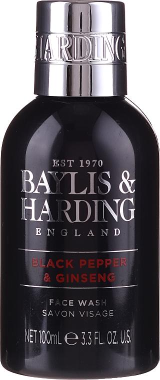 Set - Baylis & Harding Men's Black Pepper & Ginseng 4 Piece Box (hair/body/wash/100ml+a/sh/balm/100ml+face/wash/100ml+shawer/gel/50ml) — Imagine N5