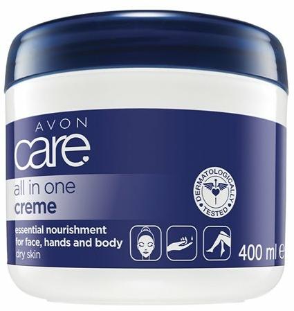 Cremă nutritivă pentru față - Avon Care All In One Creame — Imagine N3