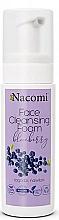 Parfumuri și produse cosmetice Spumă de curățare pentru față - Nacomi Face Cleansing Foam Blueberry