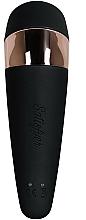 Vibro-vacuum-wave stimulator, negru - Satisfyer Pro 3+ Vibration — Imagine N2
