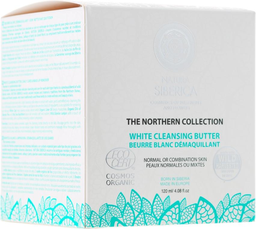 Unt de curățare pentru pielea normală și mixtă - Natura Siberica The Northern Collection White Cleansing Butter