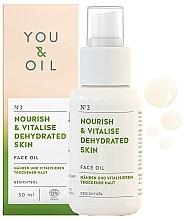 """Parfumuri și produse cosmetice Ulei facial """"Nutriție și recuperare"""" - You & Oil Nourish & Vitalise Dehydrated Skin Face Oil"""