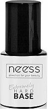 Parfumuri și produse cosmetice Bază pentru gel-lac, incoloră - Neess Extremely Hard Base