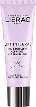 Cremă pentru gât și decolteu - Lierac Lift Integral Neck & Decollete Sculpting Lift Cream-Gel — Imagine N2