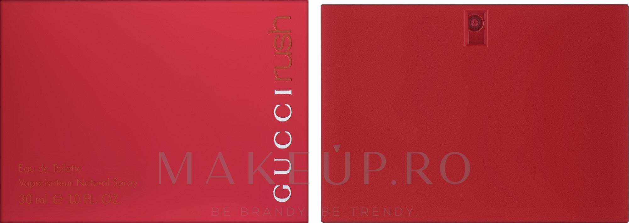 Gucci Rush - Apă de toaletă — Imagine 30 ml