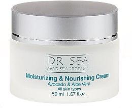 Parfumuri și produse cosmetice Cremă cu extract de avocado și aloe vera pentru față - Dr. Sea Moisturizing and Nourishing Cream