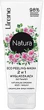 Parfumuri și produse cosmetice Mască-peeling pentru față - Lirene Natura Eco Peeling-Mask