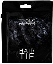 Parfumuri și produse cosmetice Elastic de păr, velur, negru - Gabriella Salvete Hair Tie