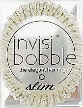 Parfumuri și produse cosmetice Elastic de păr - Invisibobble Slim Stay Gold