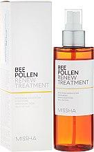 Parfumuri și produse cosmetice Tonic regenerant pentru față - Missha Bee Pollen Renew Treatment