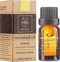 "Ulei esențial ""Lămâie"" - Apivita Aromatherapy Organic Lemon Oil — Imagine N1"