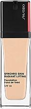 Parfumuri și produse cosmetice Fond de ten, de lungă durată - Shiseido Synchro Skin Radiant Lifting Foundation SPF 30