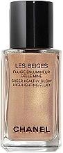 Parfumuri și produse cosmetice Fluid-iluminator - Chanel Les Beiges Sheer Healthy Glow Highlighting Fluid