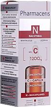 Parfumuri și produse cosmetice Ser cu vitamina C de noapte pentru față - Pharmaceris N Serum with Vit. C 1200mg Strengtening and Smoothing