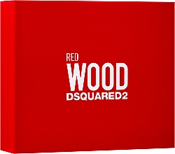 Parfumuri și produse cosmetice Dsquared2 Red Wood - Set (edt/50ml + sh/gel/50ml + b/lot/50ml)