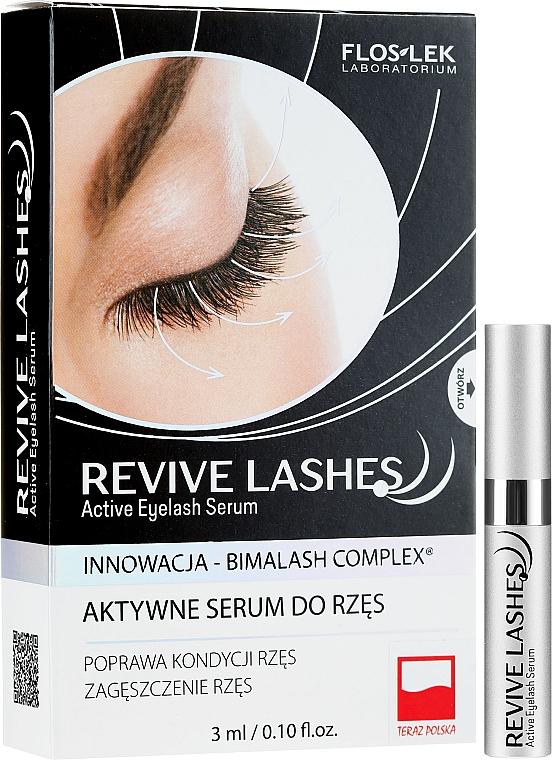Ser pentru creșterea genelor - Floslek Revive Lashes Eyelash Enhancing Serum