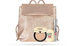 Parfumuri și produse cosmetice Set - Pupa Vamp! & Light Infusion 2019 (mascara/9ml + highighter/4g + bag)