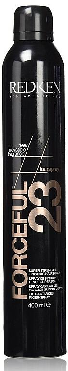 Lac de păr - Redken Forceful Hair Spray 23 — Imagine N1