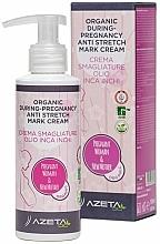 Parfumuri și produse cosmetice Cremă organică împotriva vergeturilor - Azeta Bio Organic During-Pregnancy Anti Stretch Mark Cream
