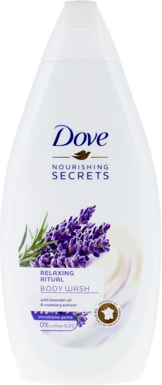 """Gel de duș """" Lavanda"""" - Dove Nourishing Secrets Relaxing Ritual Shower Gel"""