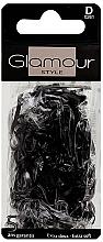 Parfumuri și produse cosmetice Elastice de păr, 0261, negre - Glamour