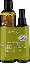 "Parfumuri și produse cosmetice Set ""Antismog"" - _Element (shampoo/300ml+spray/150ml)"