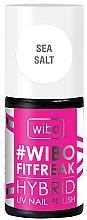 Parfumuri și produse cosmetice Lac hibrid de unghii - Wibo FitFreak Hybrid UV Nail Polish