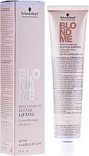 Parfumuri și produse cosmetice Cremă iluminatoare pentru păr blond - Schwarzkopf Professional BlondMe Blonde Lifting