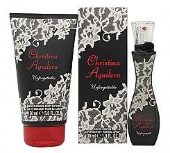 Parfumuri și produse cosmetice Christina Aguilera Unforgettable - Set (edp/30ml + b/lot/150ml)